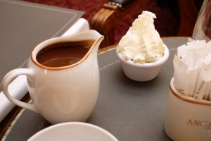 Chocolat chaud a l'ancienne (dit L'Africain) at Angelina's